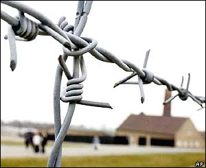 Barbed wire at Buchenwald