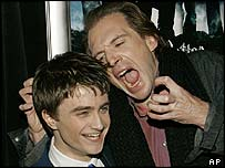 Daniel Radcliffe and Ralph Fiennes