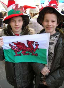 Pip and Jack both came all the way from Wales - Charles is Prince of Wales after all!