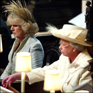 Camilla and the Queen