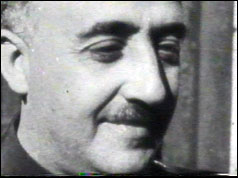 General Francisco Franco, pictured in the 1930s