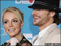 Britney Spears and husband Kevin Federline