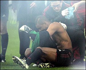 Dida receives treatment
