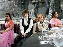 Scene from the Goblet of Fire
