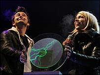 Dr Who's David Tennant and Billie Piper