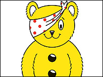Children In Need's Pudsey Bear