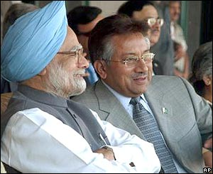 India's and Pakistan's leaders unite