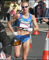 Paula ratcliff london marathon peeing