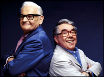 The Two Ronnies.