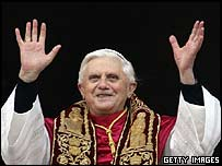 The new Pope, Joseph Ratzinger