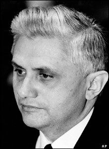 File photo of Joseph Ratzinger, then Archbishop of Munich and Freising