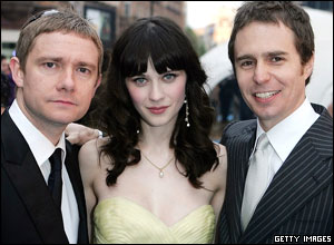 Martin Freeman, Zooey Deschanel and Sam Rockwell