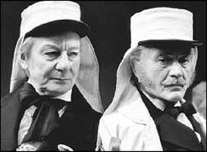 Sir John Mills and Sir John Gielgud