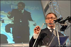 Airbus chief executive Noel Forgeard
