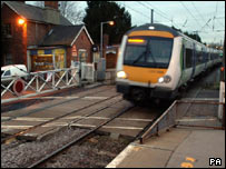 Another train at Elsenham station