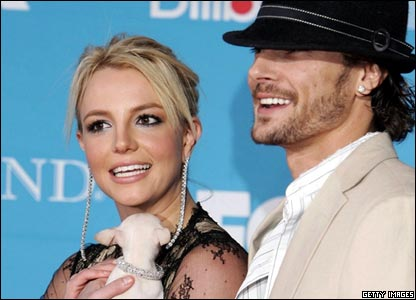 Pop star Britney Spears and husband Kevin Federline became mum and dad to Preston this month.