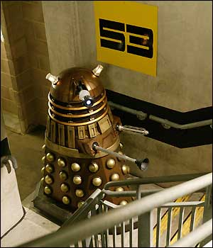 Can Daleks go upstairs?