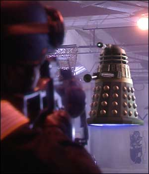 There's no doubt about it - Daleks can fly!
