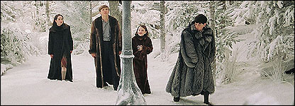 The children in Narnia