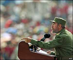 May Day in Cuba with Fidel Castro