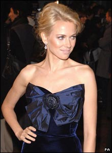 Naomi Watts arrived looking glam for the UK premiere of King Kong on Thursday night