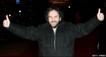 And here's Peter Jackson, the film's real director. He made his name with the monster Lord of the RIngs Trilogy.