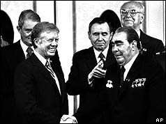 Carter and Brezhnev