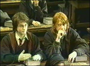 Dan Radcliffe and Rupert Grint
