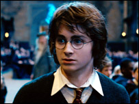 Harry Potter in the Goblet of Fire