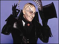 The Childcatcher from Chitty Chitty Bang Bang