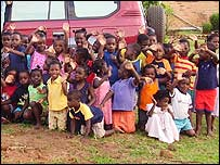 Children at orphange