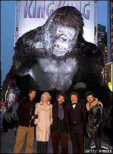 King Kong and actors