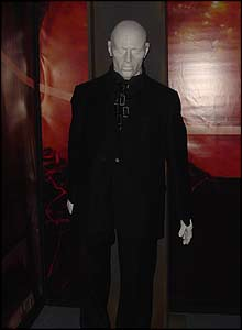 The awesome Autons look as menacing as ever