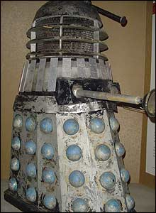 There's every kind of Dalek there - from this dented battle-worn one..