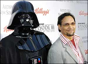 Jimmy Smiths junto con Darth Vader