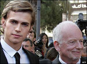 Hayden Christensen and Ian McDiarmid