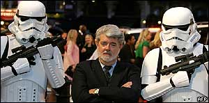 Star Wars creator George Lucas.