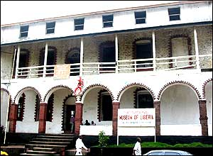 Liberia's national museum in Monrovia