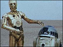 C3P0 and R2D2