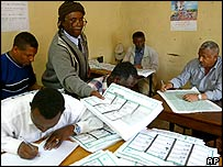 Counting votes in Ethiopia