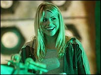 Billie Piper as Rose Tyler in the sci-fi