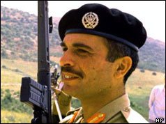 King Hussein of Jordan pictured in May 1970