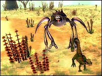 Spore is created by Sims legend, Will Wright