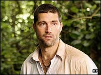 Matthew Fox who plays Jack in Lost