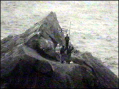 The four men on Rockall