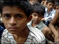 Child labourers from Mumbai