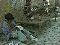 Children working in India