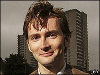 Doctor Who actor David Tennant