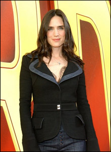 Hulk actress Jennifer Connelly was among the stars to turn out at the Shrine Auditorium
