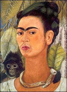 Frida Kahlo's Albright-Knox portrait